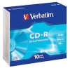CD-R Verbatim Slimcase 10/fp