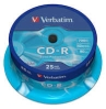 CD-R Verbatim Cakebox 25/fp