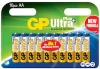 Batteri GP Ultra Plus AA 10/fp