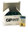 Batteri GP Ultra Plus 9V 10/fp