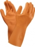 Latexhandske Orange Versa Stl7