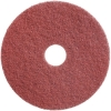 "TASKI Twister pad 17"" red."