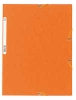 Snoddmapp A4 3-klaff orange